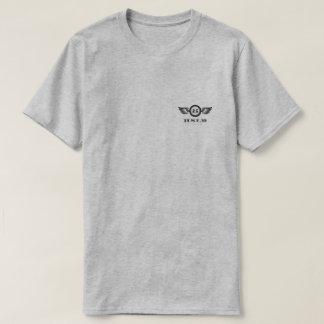 HSLR Billiards club eightball wing Tee
