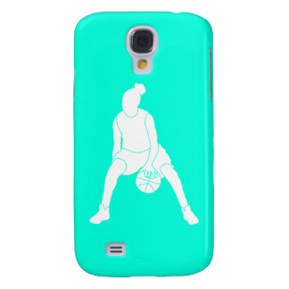 HTC Vivid Case-Mate Dribble Silhouette Turquoise Galaxy S4 Cases