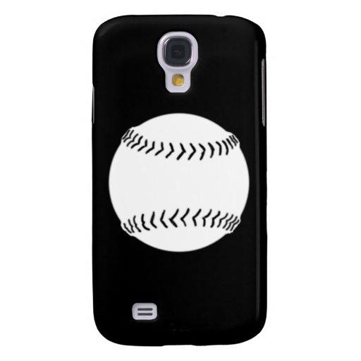 HTC Vivid Softball Silhouette White/Black HTC Vivid Case