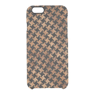 HTH2 BK-MRBL BR-STONE CLEAR iPhone 6/6S CASE