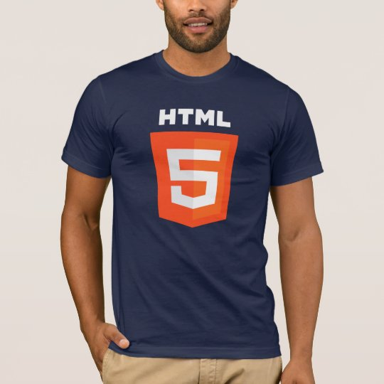 HTML5 T-shirt (On Dark T-Shirt)