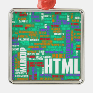 HTML 5 or HTML5 Metal Ornament