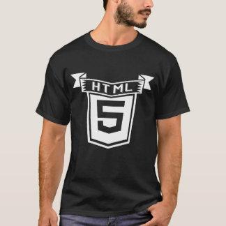 HTML 5 shirt Vintage design