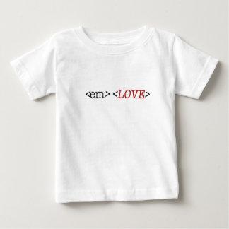 HTML code clothing baby tshirt