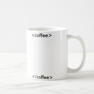 HTML Coffee mug