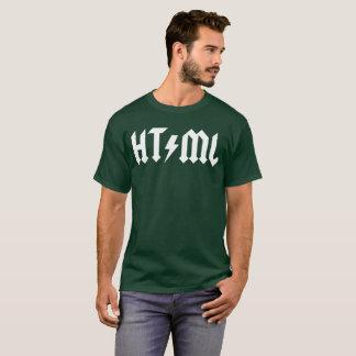 HTML fun programming graphic T-Shirt