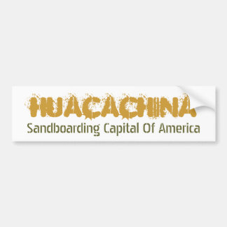 Huacachina Bumper Sticker