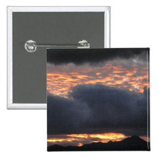 Huachuca Mt Sunset - Button 1