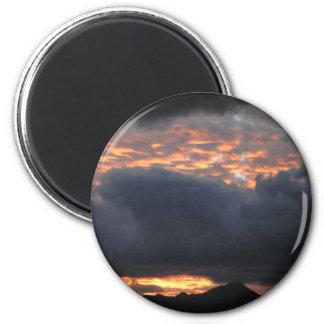 Huachuca Mt Sunset - Magnet 2