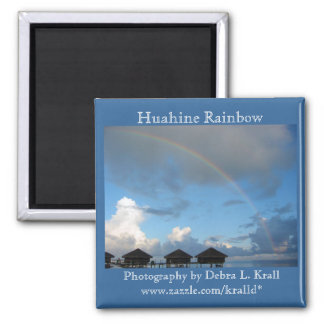 Huahine Rainbow Magnet