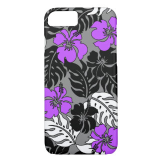 Huakini Bay Hawaiian Hibiscus Floral iPhone 8/7 Case