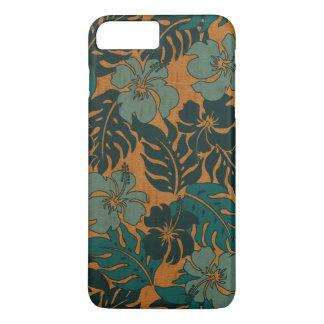 Huakini Bay Hawaiian Hibiscus Vintage Faux Wood iPhone 8 Plus/7 Plus Case