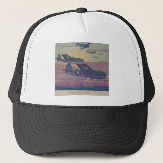 Hubbell's Grumman Fi6 Hellcat Trucker Hat