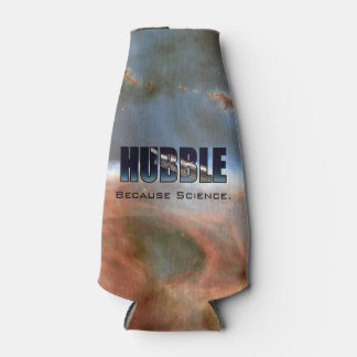 Hubble Because Science Bottle Cooler