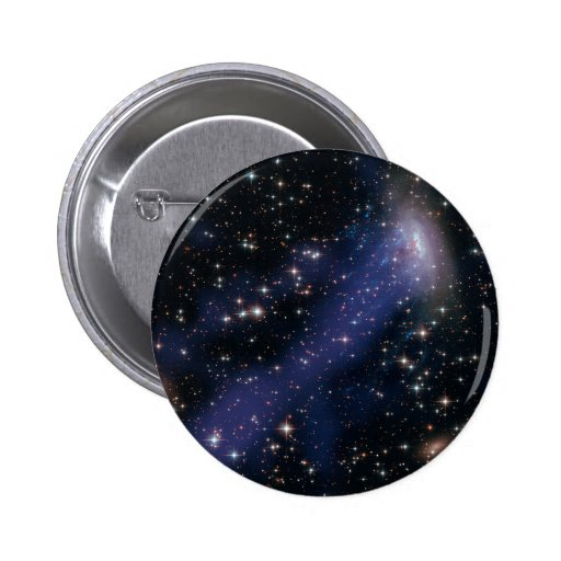 Hubble-Chandra Composite of ESO137-001 Pinback Buttons