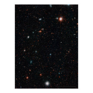 Hubble Deep Field 18x24 (18x24) Poster