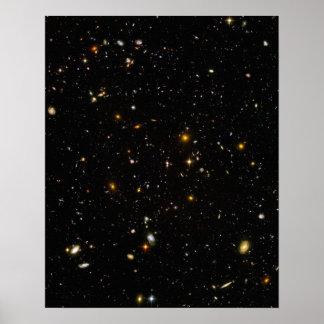 Hubble Deep Field Poster