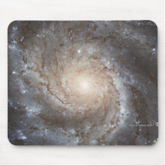 Hubble Galactic Image on Every Day Products Mouse Pad