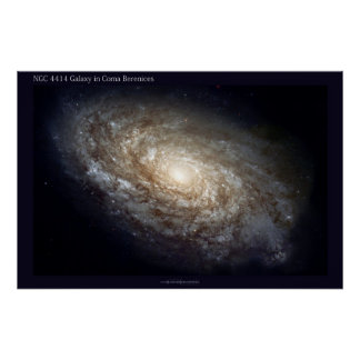 Hubble Galaxy NGC 4414 Posters
