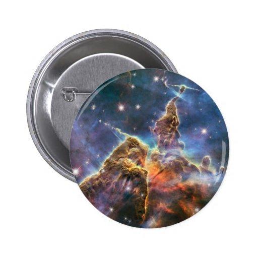 Hubble Image Deep Space Nebula Buttons