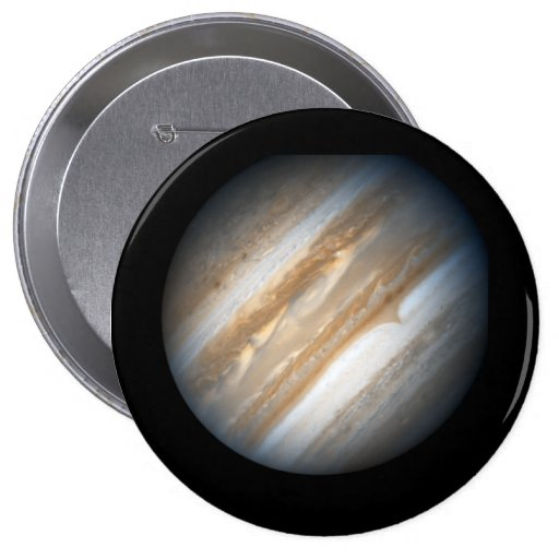 Hubble Images Jupiter in Support Buttons
