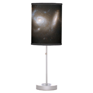 Hubble Interacting Galaxy ESO 550-2 Table Lamp