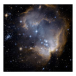 Hubble Observes Infant Stars in Nearby Galaxy Poster