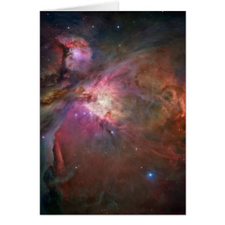 Hubble / Orion Nebula Card