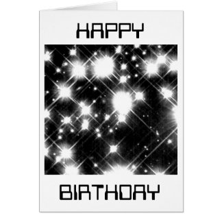 Hubble photo: White dwarf stars Birthday card