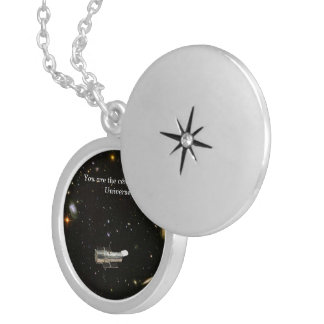 Hubble Space Locket Necklace