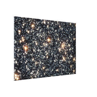 Hubble Space Telescope (ACS) Image of 47 Tucanae Stretched Canvas Print
