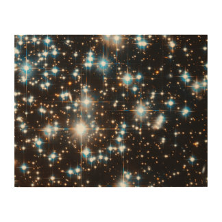 Hubble Space Telescope Image of Globular Cluster Wood Canvases