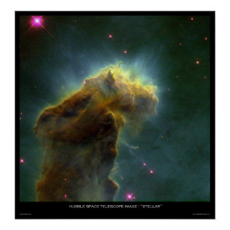 "Hubble Space Telescope Image ""Stellar"" Poster"
