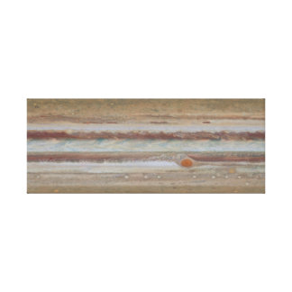 Hubble Space Telescope Jupiter Great Red Spot Canvas Print