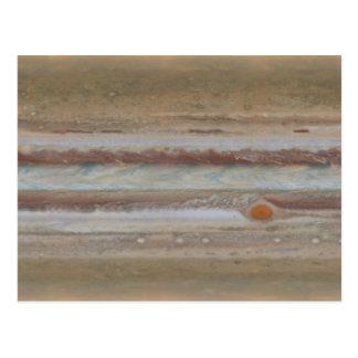 Hubble Space Telescope Jupiter Great Red Spot Postcard