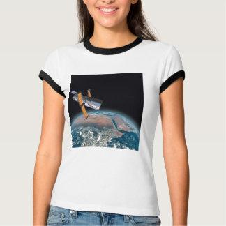 Hubble Space Telescope Ringer Astronomy T-shirt