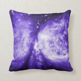 Hubble Star Forming Region Ultraviolet Throw Pillow