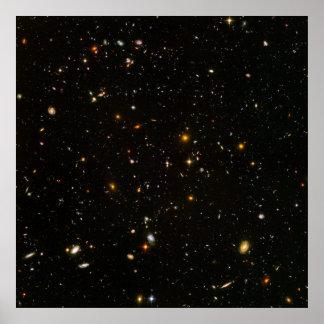 Hubble Ultra Deep Field (HUDF) [Print] Poster