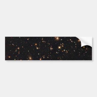 Hubble Ultra Deep Field Infrared View of Galaxies Bumper Sticker