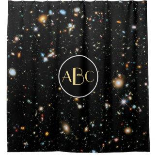 Hubble Ultra Deep Field with Custom Monogram
