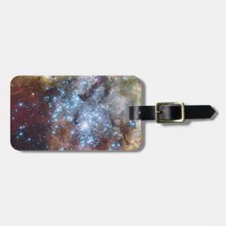 Hubble Watches Star Clusters on a Collision Course Luggage Tag
