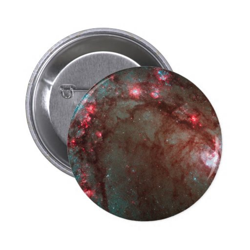 Hubble Wide Field Camera 3 Image Details Star Pinback Buttons