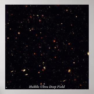 HubbleUltraDeepField, Hubble Ultra Deep Field Poster