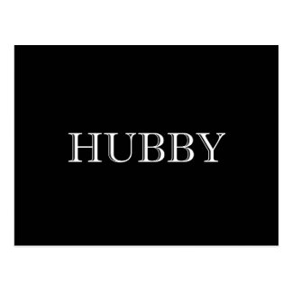 Hubby Married Couple Postcard