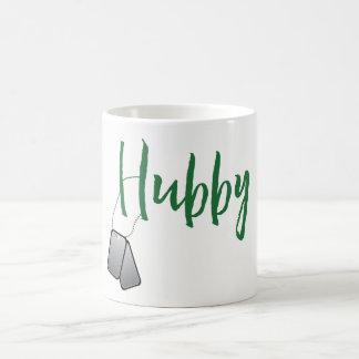 Hubby Mug with Dog Tags