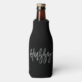 Hubby Silver Foil Bottle Cooler