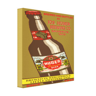 Huber Beer Canvas Print