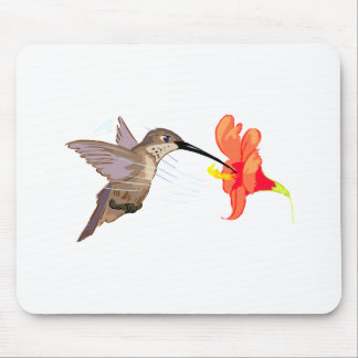 Hubert Hummingbird Mouse Pad