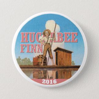 Huckabee Finn 2016 3 Inch Round Button
