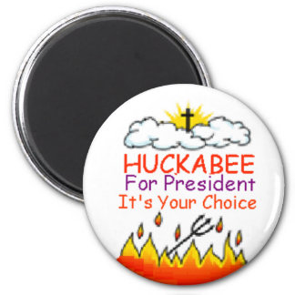 Huckabee Heaven/Hell Magnet